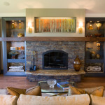 Living Room Fireplace Decorating Ideas Kitchen White