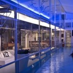 Living Room Glass Swimming Pool Architecture Home Design