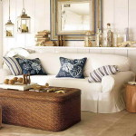 Living Room Ideas Cottage Style Wicker Set