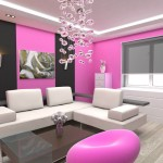 Living Room Inspiration Inspirations Pink Via