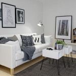 Living Room Space Comfy Small Apartment Exhaling Brightness