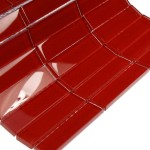 Loft Cherry Red Polished Glass Tile Shop Tiles