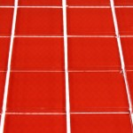 Loft Cherry Red Polished Glass Tiles