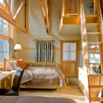 Loft Room Rooms Feature One Queen Sized Bed And