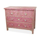 London Mother Pearl Inlay Chest Drawers Designerm Bel