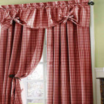 Long French Kitchen Curtains Country Style