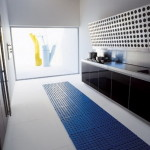 Long Kitchen Design Ideas Blue Dining And