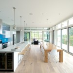 Long Kitchen Island Design Ideas Pictures Remodel And Decor