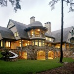 Lovely Lakefront Home Luxury Design Tms Architects Best
