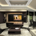 Luxory Modern Penthouse Design Budapest From Archikron