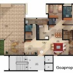 Luxury Apartments For Sale Dabolim Goa Floor Plan