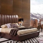 Luxury Bed Headboard Design Ideas High Quality Brown Leather