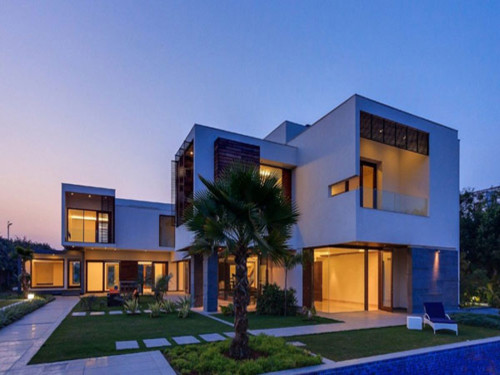 Luxury Contemporary Architecture New Delhi