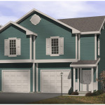 Mackenzie Hill Garage Apartment Plan House Plans And More
