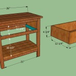 Make Wooden Bedside Table