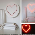 Make Your Own Heart Wall Lamp Yes Think Will