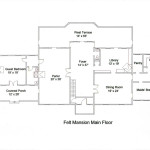 Mansion Floor Plans Model Modern Home Designs