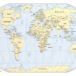 Map The World Hd