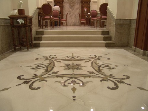 Marble Floor Rubber Flooring