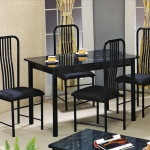 Marble Poly Top Dining Set