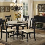 Marble Top Dining Room Sets