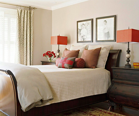 Master Bedroom Decorating Ideas Sleigh Bed Home Interiors