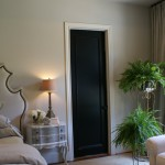 Matte Glossy Black Paint Especially Otherwise Neutral Rooms