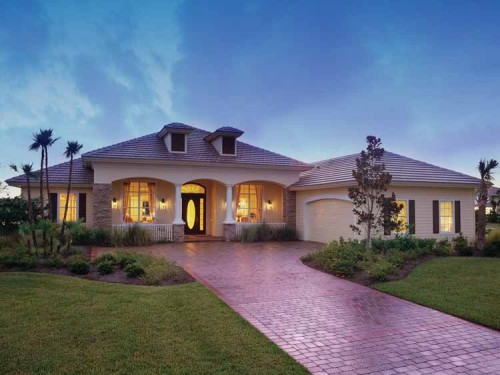 Mediterranean Modern Home Plans Dream Source New Homes