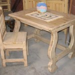 Mediterranean Style Table Desk Chair View Custom Order