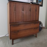 Men Chest Lenoir House Division Broyhill Mid Century Modern