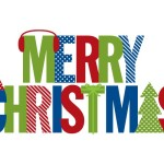 Merry Christmas Modern Wall Decal And Sticker Weedecor