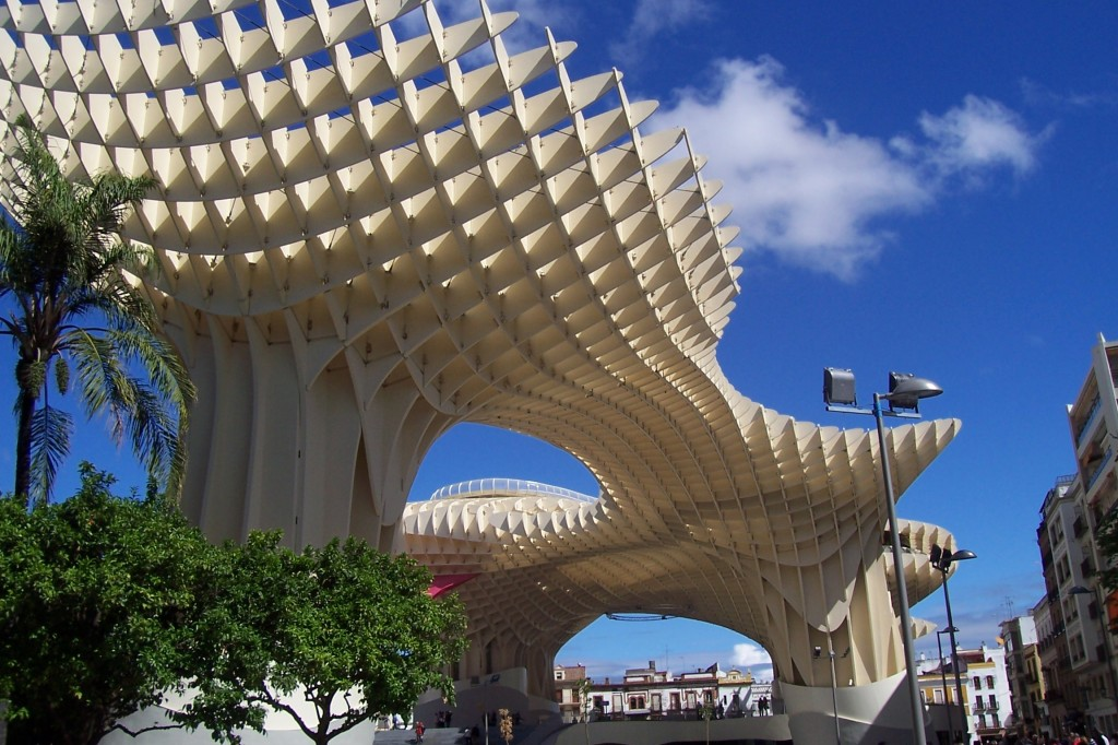 Metropol Parasol The Largest Wooden Structure World