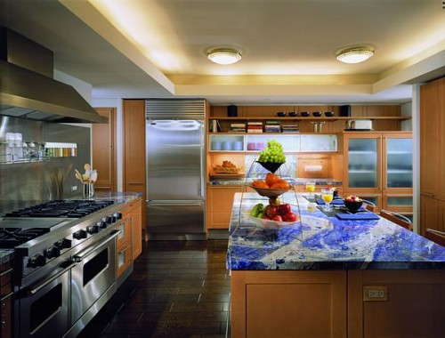 Mineral Sodalite Kitchen Countertop Top Materials