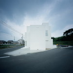 Minimalist Japanese White House Design Architectural And