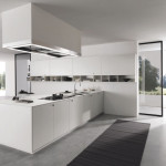 Minimalist Modern Lacquered Kitchen Stainless Combination Assim