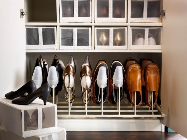 Minimize Clutter The Foot Your Closet Small