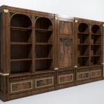 Model Old Bookcase Furniture Interiors Models And
