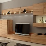 Modern And Minimalist Wooden Wall Unit Furniture From Lstahome