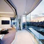 Modern Apartment Interior Design Warm And Glamour Style Digsdigs