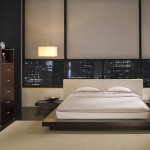 Modern Asian Inspired Bedroom Design