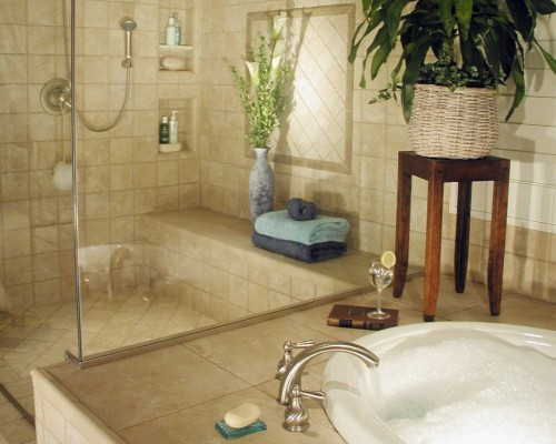 Modern Bathroom Decorating Ideas Picture