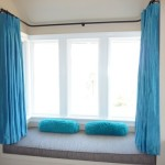 Modern Bay Window And Curtain Design Inspiration