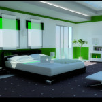 Modern Bedroom Designs Idea Green Design