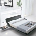 Modern Bedroom Style Wave Bed Table Design Pictures Remodel