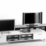 Modern Black And White Wood Stand Ideas Furniture