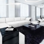 Modern Contemporary Black And White Living Rooms Home Design