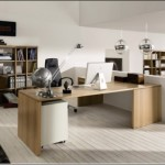 Modern Contemporary Home Office Furniture Set