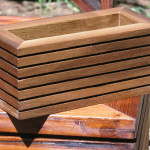 Modern Contemporary Succulent Planter Box Midcenturywoodshop