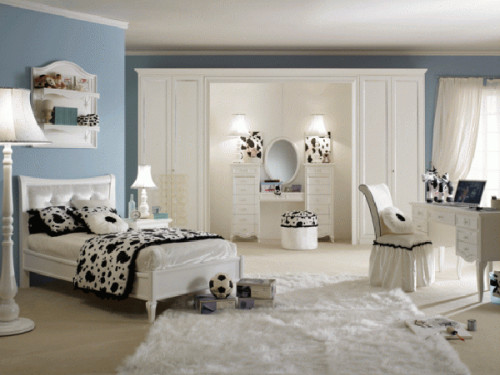 Modern Cool Teenage Room Interior Design