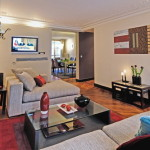 Modern French Style Interior Living Room Decor